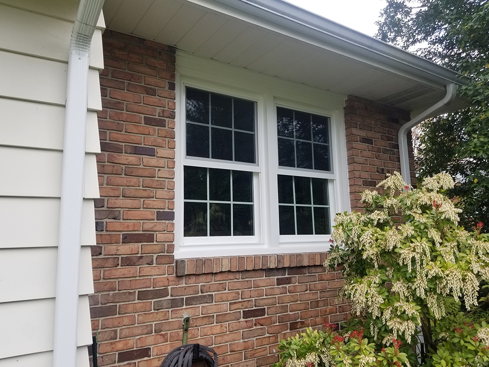 Window Mania installed 2 double hung windows in a home in Sinking Spring PA